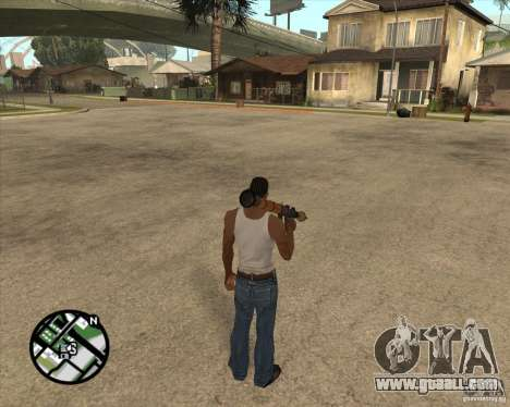 RiCkys Rocket Launcher for GTA San Andreas forth screenshot