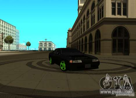 Elegy Green Drift for GTA San Andreas