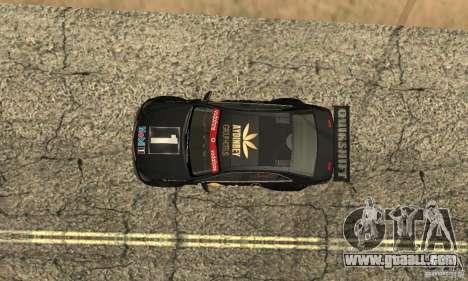 Mercedes-Benz E63 AMG DTM 2011 for GTA San Andreas bottom view