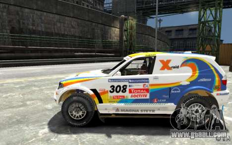 BMW X3 CC DAKAR for GTA 4 left view