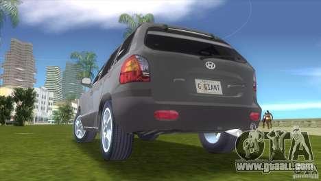 Hyundai Sante Fe for GTA Vice City right view