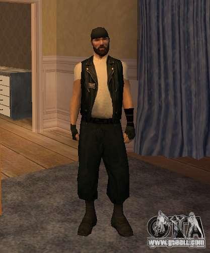 New skins Bikers for GTA San Andreas eighth screenshot