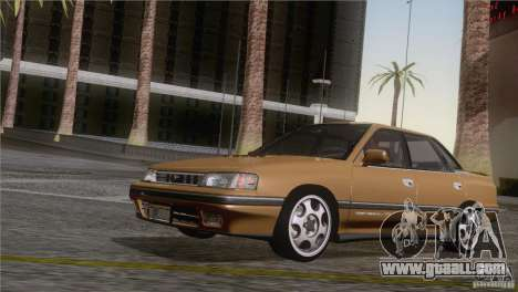Subaru Legacy RS for GTA San Andreas back left view