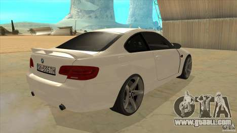 BMW 335i Coupe 2011 for GTA San Andreas right view