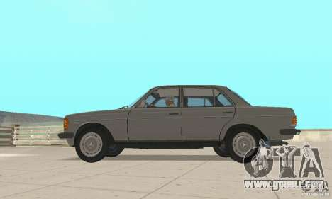 Mercedes-Benz 230 W123 for GTA San Andreas right view