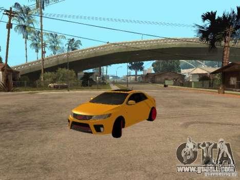 Kia Cerato Coupe JDM for GTA San Andreas