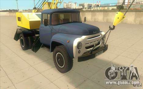 ZIL-130 k-2, 5-1E for GTA San Andreas left view