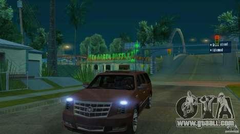 Cadillac Escalade ESV 2012 for GTA San Andreas