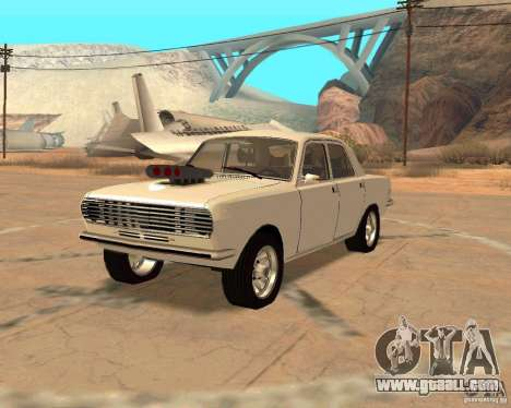 GAZ Volga 2410 Hot Road for GTA San Andreas right view
