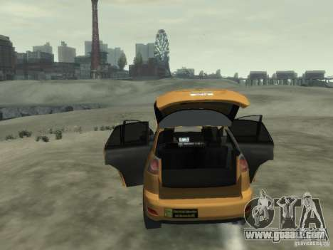 Lexus RX400 New York Taxi for GTA 4 interior