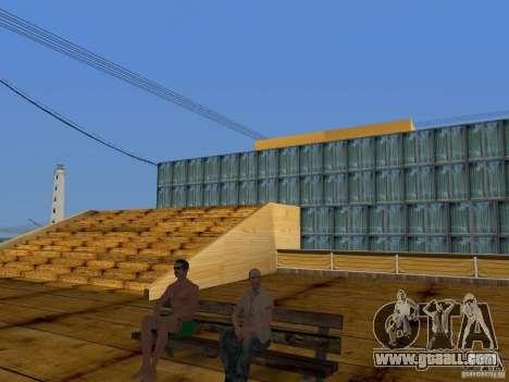 New Beach texture v2.0 for GTA San Andreas seventh screenshot