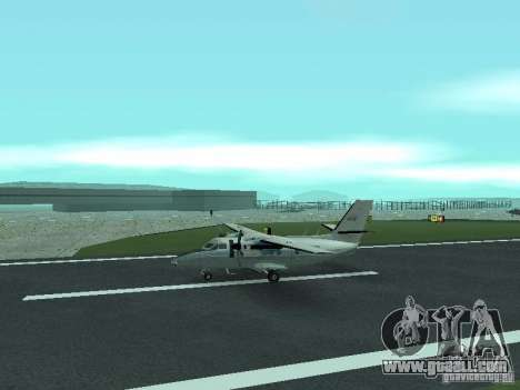 Let L-410 for GTA San Andreas left view