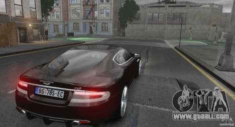 Aston Martin DBS v1.0 for GTA 4 right view
