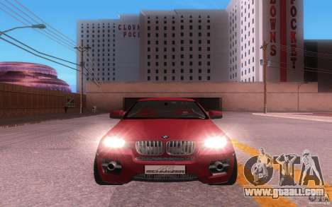 BMW X6 Tuning for GTA San Andreas left view