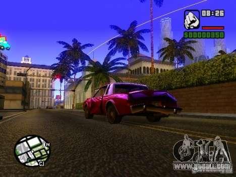 Timecyc BETA 2.0 for GTA San Andreas second screenshot