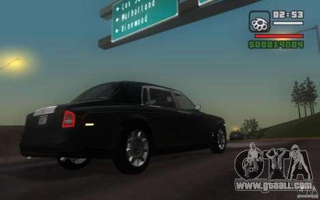 Rolls-Royce Phantom EWB for GTA San Andreas right view