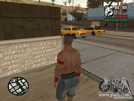 John Cena for GTA San Andreas third screenshot