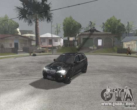 BMW X5 2009 Tune for GTA San Andreas