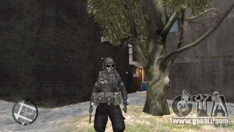 MW2 Ghost Diving Suit for GTA 4 third screenshot