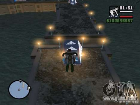 Night moto track for GTA San Andreas seventh screenshot