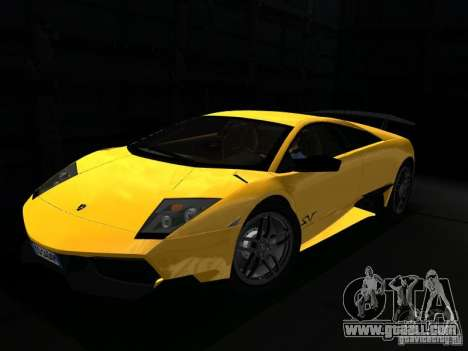 Lamborghini Murcielago LP670-4 sv for GTA San Andreas side view