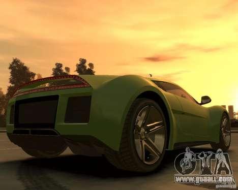 2010 Saleen S5S Raptor for GTA 4 back left view