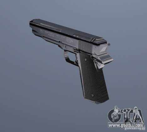 The new pistol for GTA Vice City