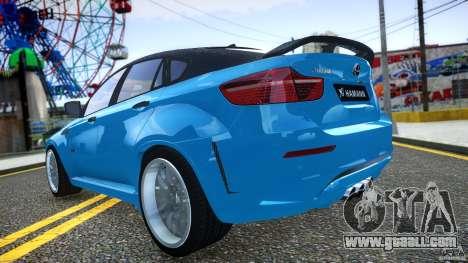 BMW X 6 Hamann for GTA 4 side view