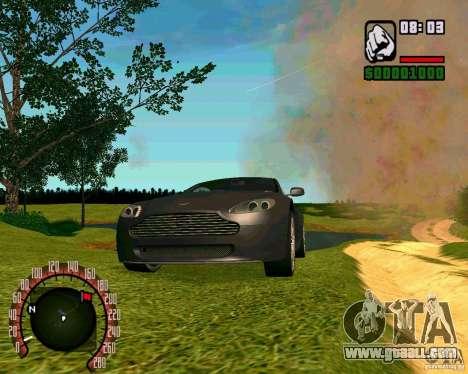 Aston Martin V8 Vantage N400 for GTA San Andreas right view
