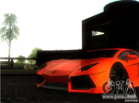 Lamborghini Aventador LP700 for GTA San Andreas