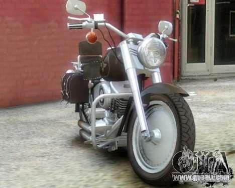 Harley Davidson FLSTF Fat Boy for GTA 4