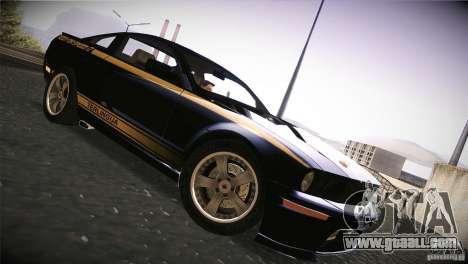Shelby GT500 Terlingua for GTA San Andreas