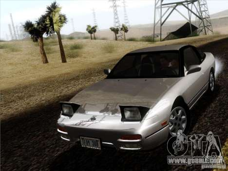 Nissan 240SX S13 - Stock for GTA San Andreas back left view