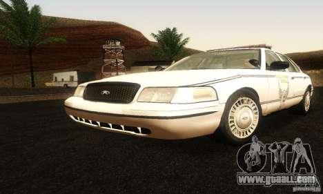 Ford Crown Victoria Ohio Police for GTA San Andreas