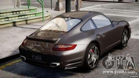Porsche 911 Turbo for GTA 4 bottom view
