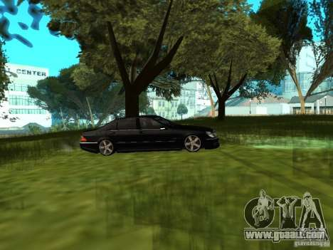 Mercedes Benz AMG S65 for GTA San Andreas right view