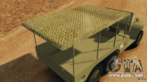 Dodge WC-62 3 Truck for GTA 4 interior