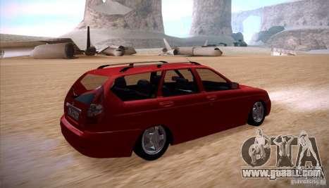 VAZ Lada Priora 2171 for GTA San Andreas left view