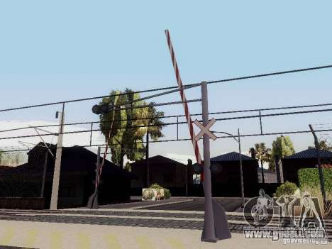 RAILWAY crossing RUS V 2.0 for GTA San Andreas third screenshot