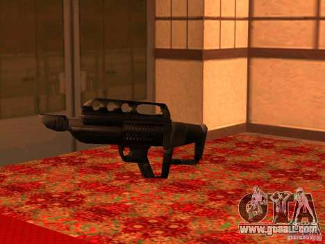 Pancor Jackhammer for GTA San Andreas sixth screenshot