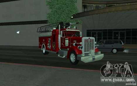 Peterbilt 379 Fire Truck ver.1.0 for GTA San Andreas right view