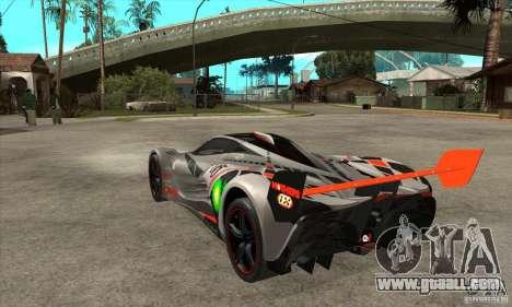 Mazda Furai V2 for GTA San Andreas right view