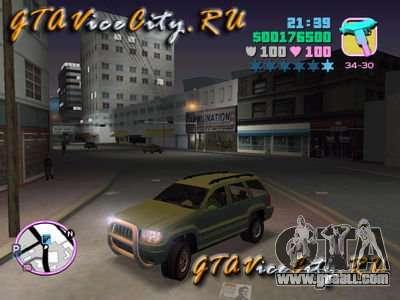 JEEP GRAND CHEROKIE for GTA Vice City