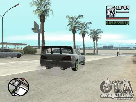 Elegy First Update By reNz for GTA San Andreas right view
