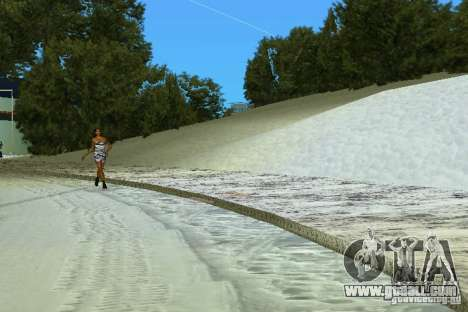 Snow Mod v2.0 for GTA Vice City third screenshot