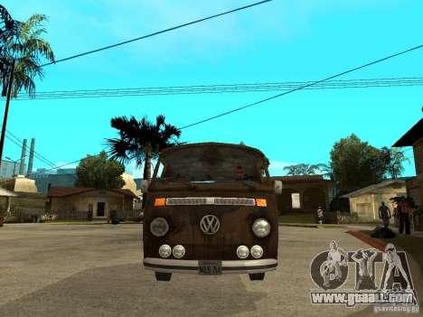 VW Transporter T2 1967 for GTA San Andreas