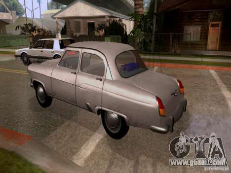 GAZ 21 Volga for GTA San Andreas left view