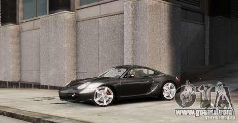 Porsche Cayman for GTA 4 left view