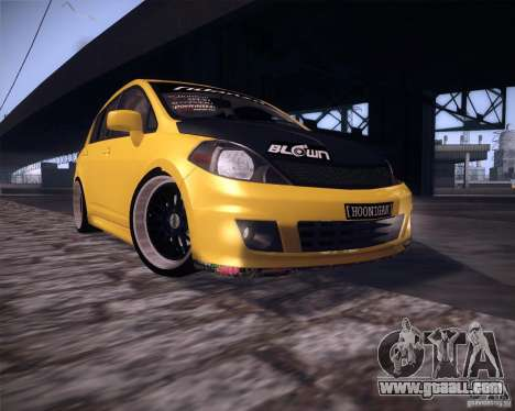 Nissan Versa Tuned for GTA San Andreas left view