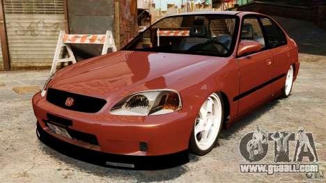 Honda Civic iES for GTA 4